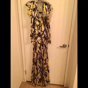 Rachel Zoe silk dress.